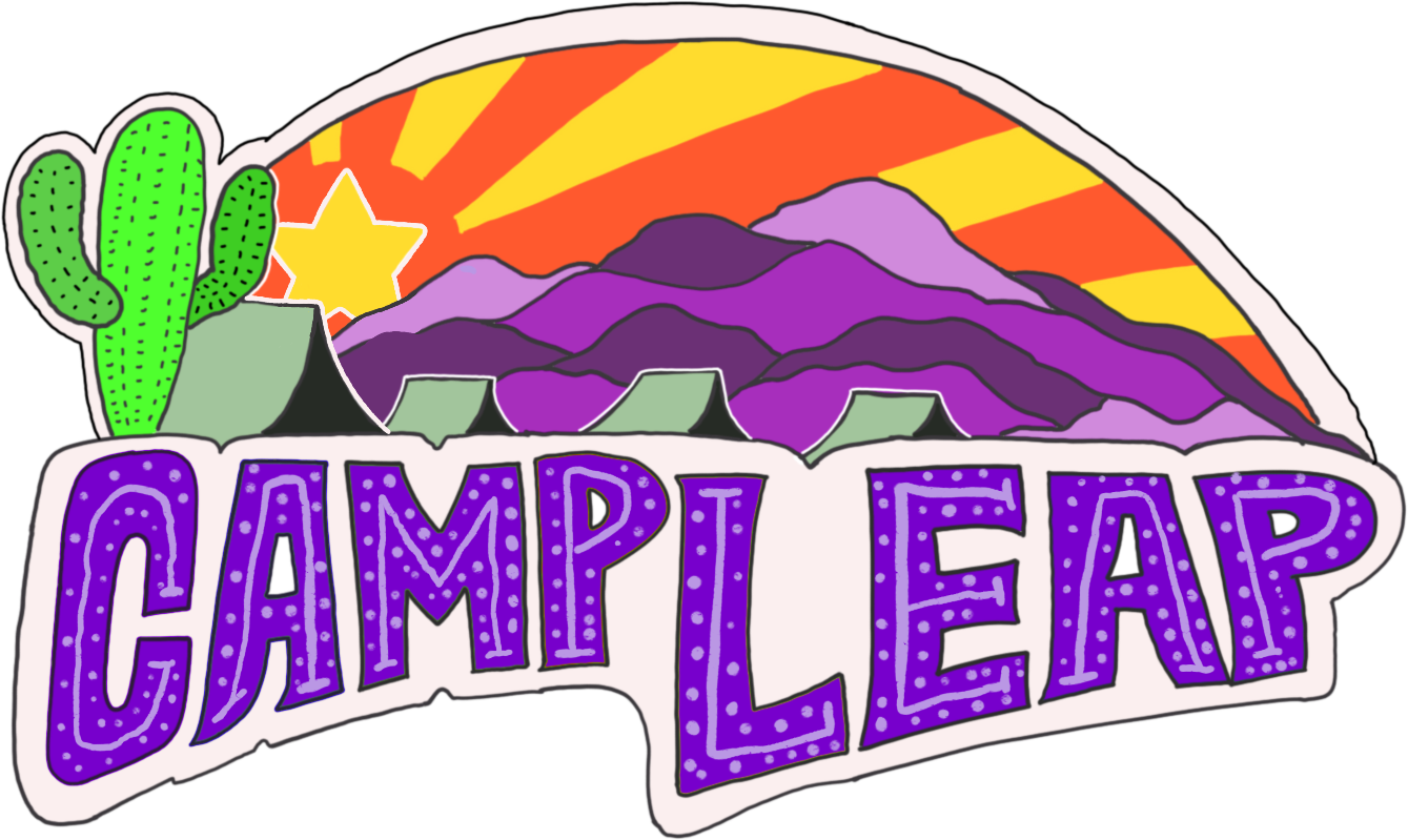camp leap logo