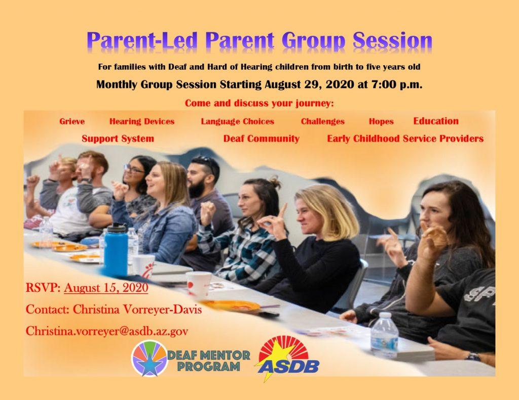 Parent Group Session
