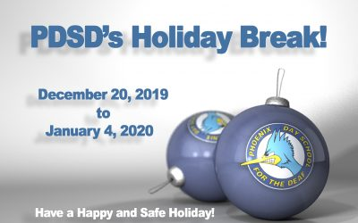 PDSD's Holiday Break!