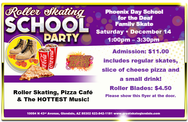 Roller Skating School Party