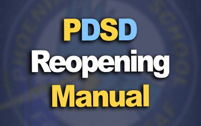 PDSD Reopening Manual