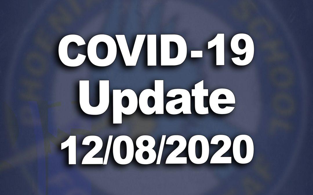 COVID-19 UPDATE (Dec. 8, 2020)