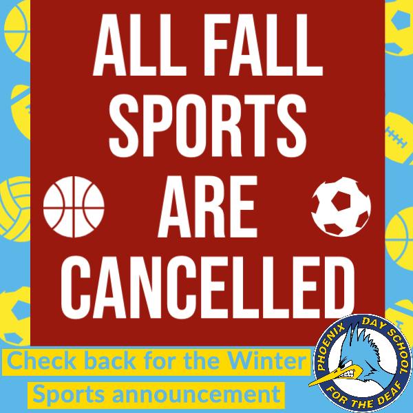 PDSD Fall Sports