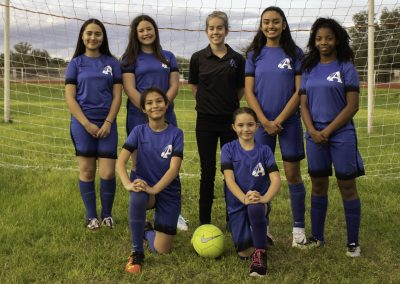 Middle School Girls Soccer 2019-2020