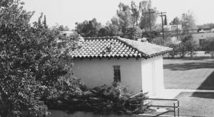 Photo of the historic Bath House at the Tucson Campus