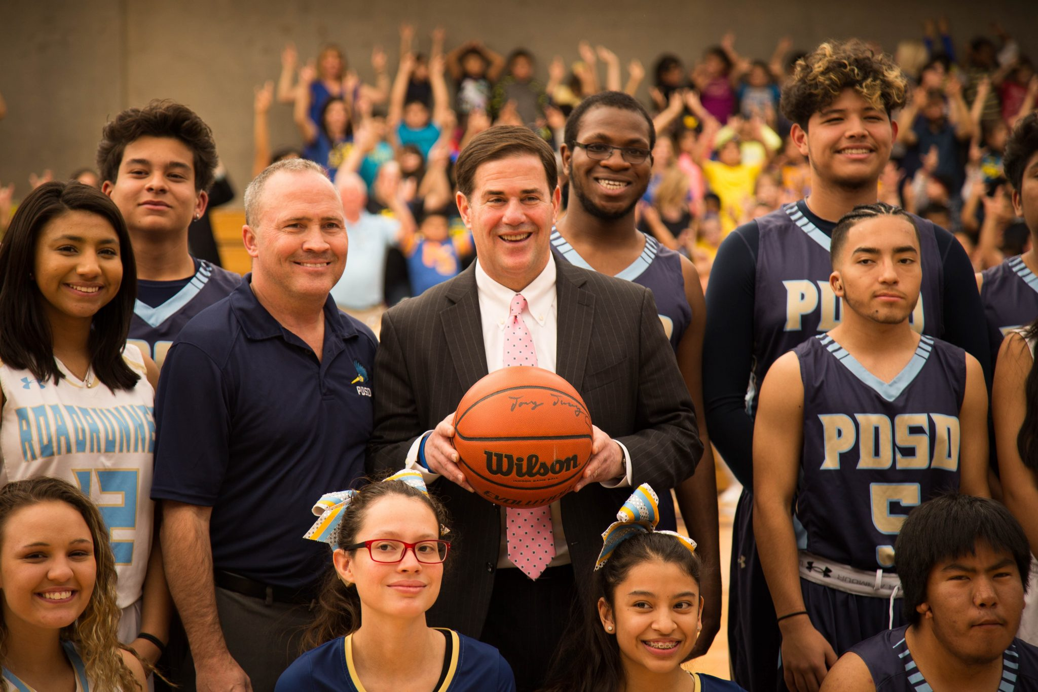 Governor Ducey Visits PDSD
