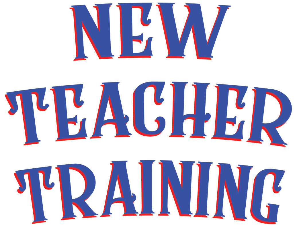 New Teacher Training graphic