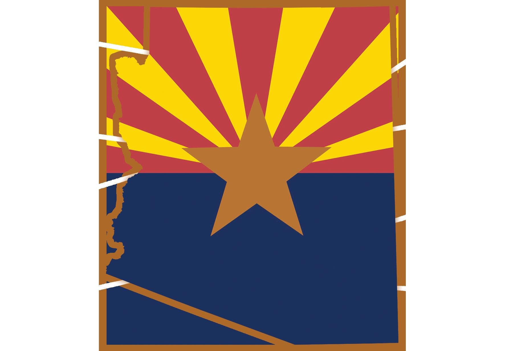 Arizona state graphic