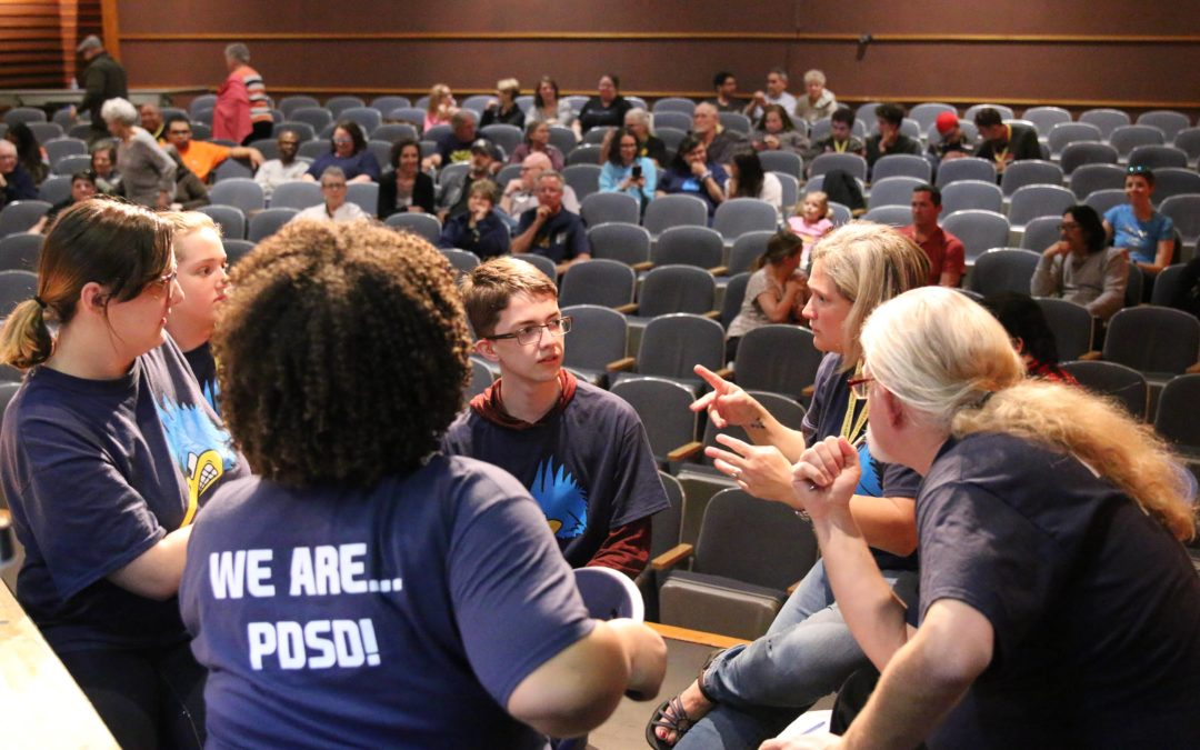 Phoenix Day School for the Deaf Hosted Gallaudet University's Prestigious West Regional Academic Bowl