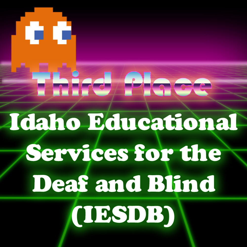 Graphic of third place winners Idaho Educational Services for the Deaf and Blind