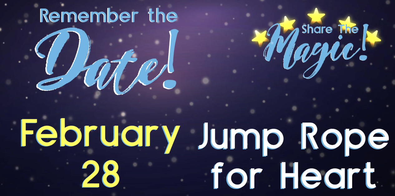graphic for jump rope for heart at pdsd feb 28