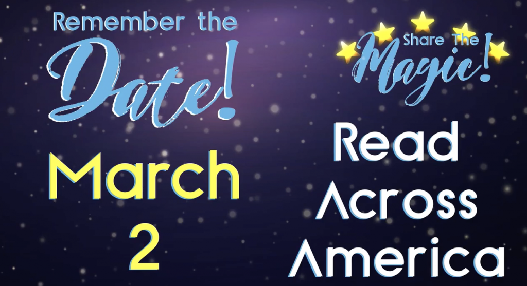 graphic pdsd's read across america march 2