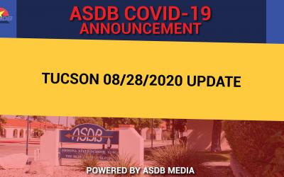Tucson 08/28/2020 update