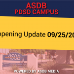PDSD Reopening Update