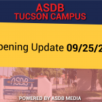 Tucson Campus Reopening Update