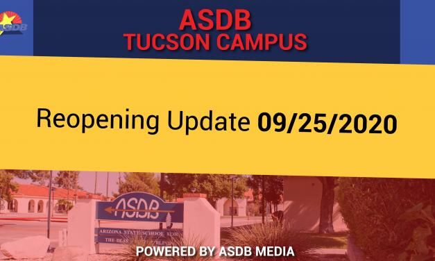 Tucson Campus Reopening Update