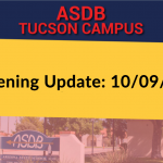 Tucson Campus Reopening Update 10/09/2020