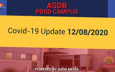 12-08-2020 COVID-19 UPDATE (PDSD)