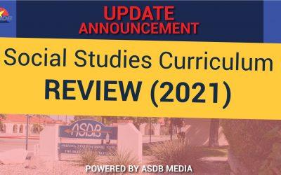 Social Studies Curriculum Review 2021